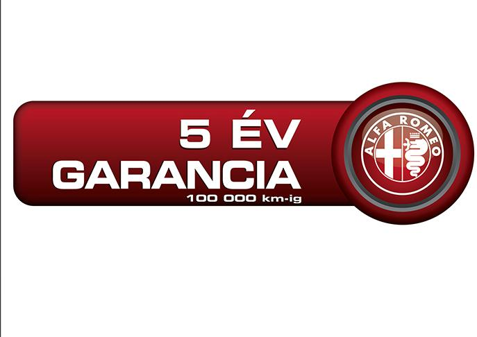 5 év vagy 100 000 km garancia ALFA ROMEO személyautókra 20bba464e4